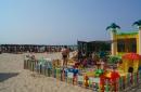 Деткая площадка на пляже